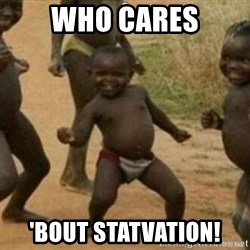Black Kid - WHO CARES 'BOUT STATVATION!