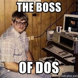 Nerd - the boss of dos