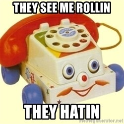 Sinister Phone - they see me rollin they hatin