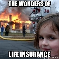 Disaster Girl - The wonders of life insurance