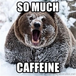 Clean Cocaine Bear - so much caffeine