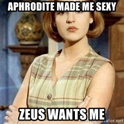 KONTRABIDA - Aphrodite made me sexy Zeus wants me
