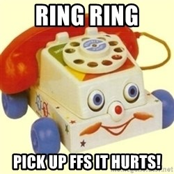 Sinister Phone - RING RING PICK UP FFS IT HURTS!