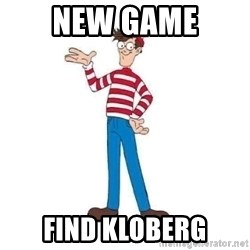 Where's Waldo - NEW GAME FIND KLOBERG