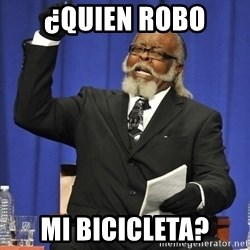 Jimmy Mac - ¿QUIEN ROBO MI BICICLETA?