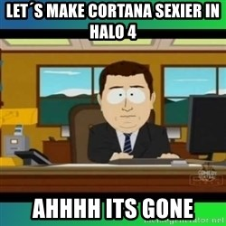 AH ITS GONE - Let´s make cortana sexier in halo 4 AHHHH ITS GONE