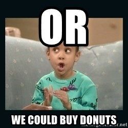 Raven Symone - or we could buy donuts