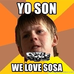Shkolofreestyler - YO SON  WE LOVE SOSA