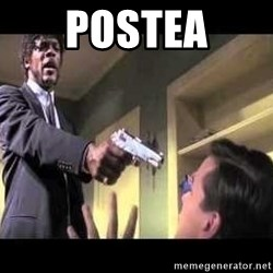 Say what again - postea