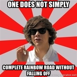 One Does Not Simply Harry S. - ONE DOES NOT SIMPLY COMPLETE RAINBOW ROAD WITHOUT FALLING OFF