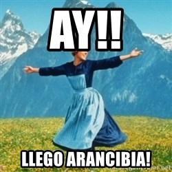 Sound Of Music Lady - ay!! llego arancibia!