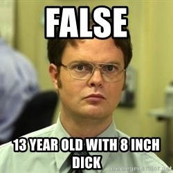 False guy - FALSE 13 YEAR OLD WITH 8 INCH DICK