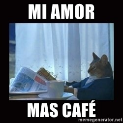 i should buy a boat cat - mi amor mas café