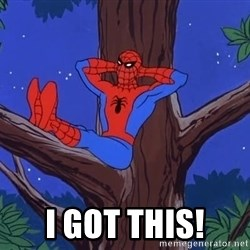 Spiderman Tree - i got this!