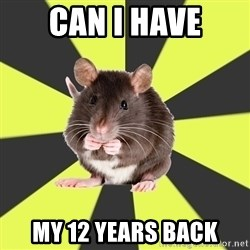 Survivor Rat - can I have my 12 years back
