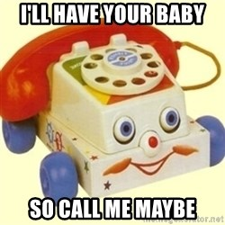 Sinister Phone - I'LL HAVE YOUR BABY SO CALL ME MAYBE