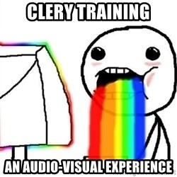 Puking Rainbows - CLERY TRAINING AN AUDIO-visual experience