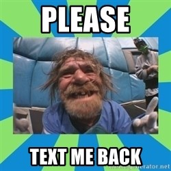 hurting henry - please text me back