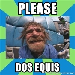 hurting henry - please dos equis
