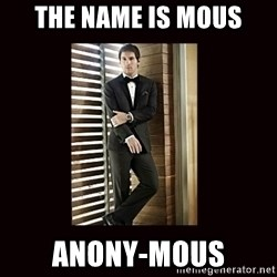 BondMessi - The name is mous Anony-mous