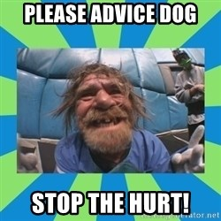hurting henry - please advice dog stop the hurt!