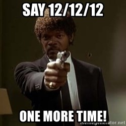 Jules Pulp Fiction - Say 12/12/12 ONE MORE TIME!