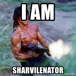 Rambo - I am sharvilenator