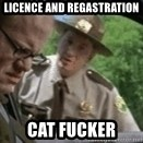 super troopers - licence and regastration  cat fucker
