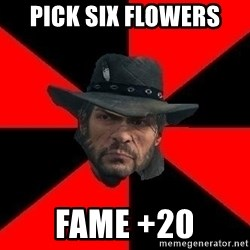 John Marston - PICK SIX FLOWERS FAME +20