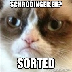 angry cat asshole - schrodinger,eh? Sorted
