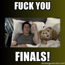 ted fuck you thunder - FUck you Finals!