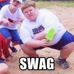 American Fat Kid - SWAG