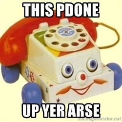 Sinister Phone - This pdone Up yer arSe