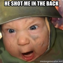 GET TO THE CHOPPA - He Shot me in the back