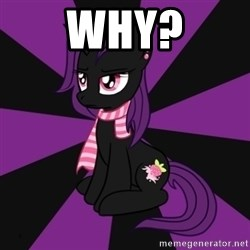 Sane my little pony Fan - Why?