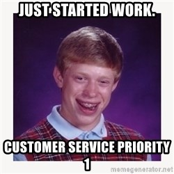nerdy kid lolz - JUST STARTED WORK. CUSTOMER SERVICE PRIORITY 1