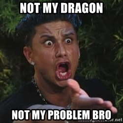 Pauly D - Not my dragon not my problem bro