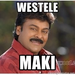 Typical Indian guy - Westele maki