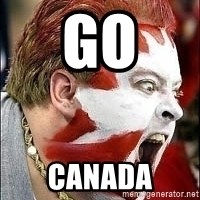 Hockey Fan - GO CANADA