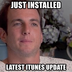 huge mistake - just installed latest itunes update