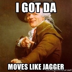 Joseph Ducreux - i got da moves like jagger