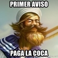 "Gangplank ""but then i ate some oranges and it was k"" - Primer aviso paga la coca"