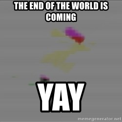 Advice Edit Button - The end of the world is coming yay