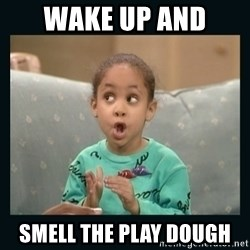 Raven Symone - WAKE UP AND  SMELL THE PLAY DOUGH