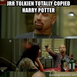 Skin Head John - JRR Tolkien totally copied harry potter