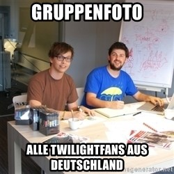 Naive Junior Creatives - gruppenfoto alle twilightfans aus deutschland