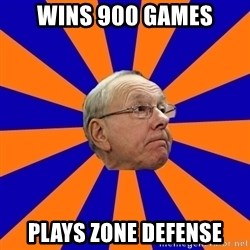 Jim Boeheim - Wins 900 Games Plays Zone Defense