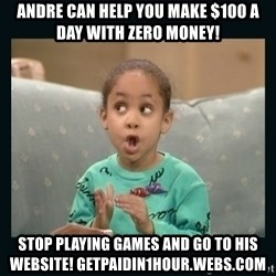 Raven Symone - ANDRE CAN HELP YOU MAKE $100 A DAY WITH ZERO MONEY! STOP PLAYING GAMES AND GO TO HIS WEBSITE! GETPAIDIN1HOUR.WEBS.COM