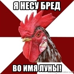 Roleplaying Rooster - Я несу бред во имя луны!