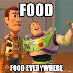 Consequences Toy Story - FOOD FOOD EVERYWHERE